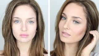 Flawless Foundation Routine + Cream Contouring