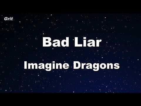 bad-liar---imagine-dragons-karaoke-【no-guide-melody】-instrumental