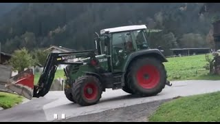 Tractor Fendt 309 with Frontloader
