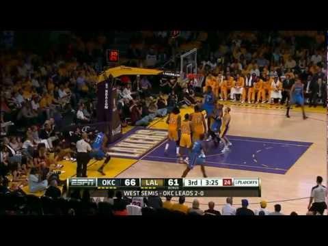 THE Oklahoma City Thunder 2012 NBA Playoffs