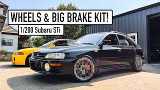 homepage tile video photo for INSANE Wheels & Big Brake Kit Upgrade for my V1 Subaru STi!