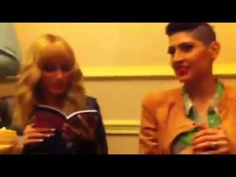 HA*ASH Y su libro de chistes en Chile