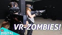 VR, aber richtig: Jürg & Martina gegen die Zombies!