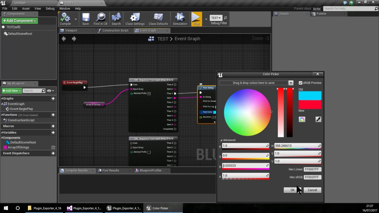 Unreal Engine 4 Tutorial - How to make a Plugin - Part03 - Adding Contet  and Packaging