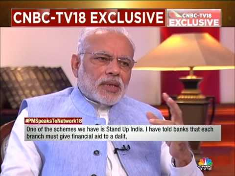 PM MODI SPEAKS EXCLUSIVELY TO NETWORK18