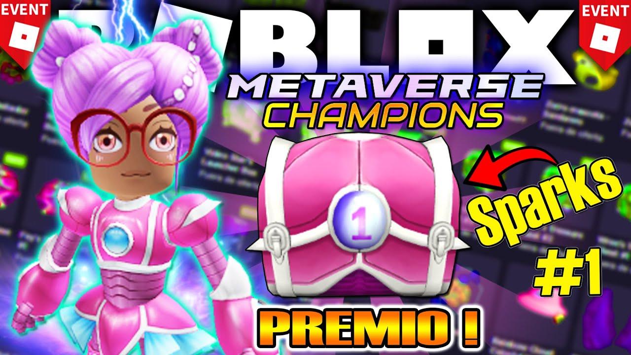Download 💥 Como Conseguir PRIMER PREMIO SPARKS KILOWATT! *Evento* ROBLOX METAVERSE CHAMPIONS (#1 CAJA)