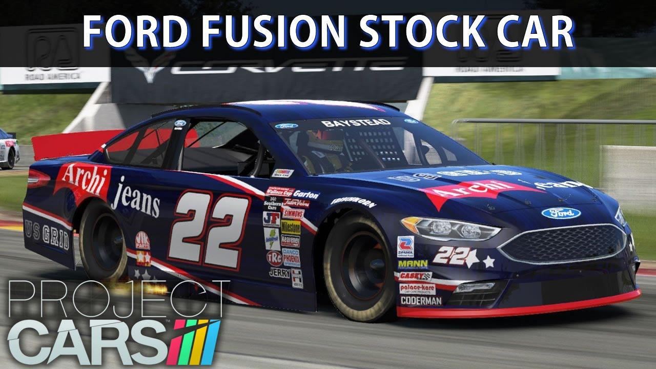 Ford Racing Fusion Stock Car