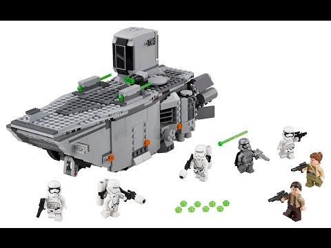 LEGO Star Wars First Order Transporter Review! 75103