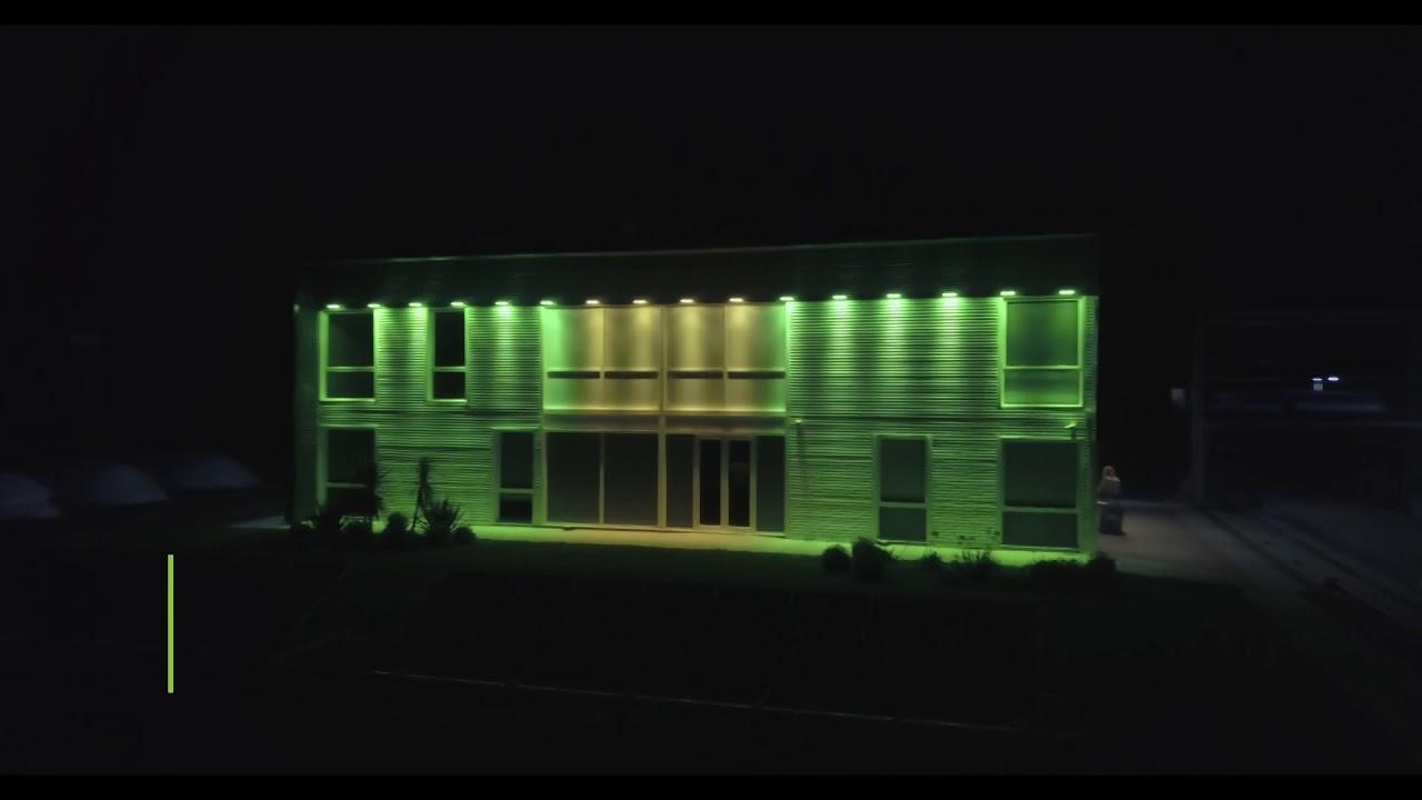 Proyecto de Iluminación 70º Aniversario - Complejo Agroindustrial Pilar