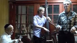 Andy Statman Trio ft Thirsty Dave Hansen - Six Days On The Road  12-3-15 Charles Street Synagogue,