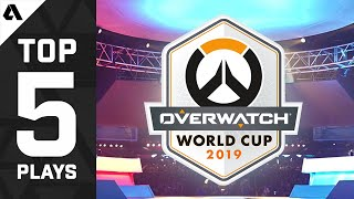 TOP 5 Greatest Plays Of The Overwatch World Cup 2019 Playoffs