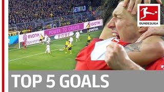 Top 5 Goals on Matchday 21 -  Guerreiro, Kalou & More