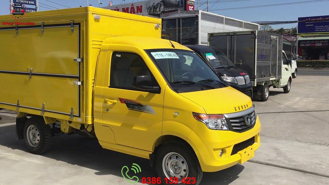Đánh giá xe tải kenbo 990kg thùng kín – cánh dơi, xe tải 1 tấn giá rẻ – kenbo thùng cánh dơi.