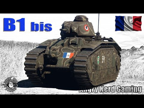 War Thunder: Char B1 bis, French, Tier-2, Heavy Tank