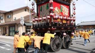 日野曳山まつり 滋賀県蒲生郡日野町 2017 Hino Hikiyama Festival  Hino-cho Gamo-gun Siga ,Japan