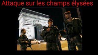 Edition Spéciale accident sur les Champs-Elysées
