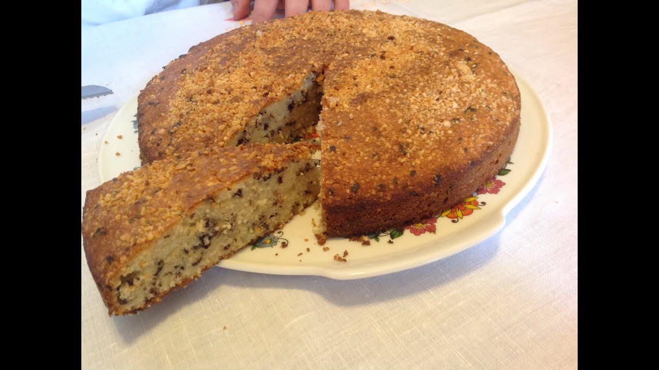 Bizcocho tarta de avellana almendras y chocolate youtube for Bizcocho de yogur y almendra