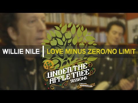 Willie Nile - 'Love Minus Zero/No Limit' (Bob Dylan cover) | UNDER THE APPLE TREE