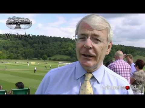Sir John Major interview at Wormsley