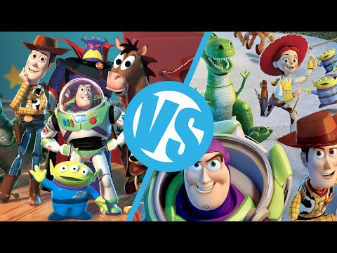 Toy Story 2 VS Toy Story 3 Movie Feuds ep29 YouTube
