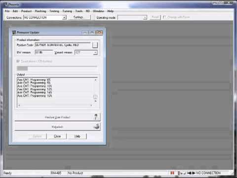 [S40] Hướng dẫn Download và Flash Firmware.flv