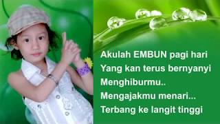 Gambar cover Embun Tabina - Embun Pagi (Official Lyrics Video)