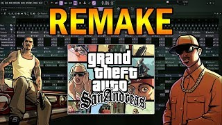 gta san andreas theme fl studio remake descarga