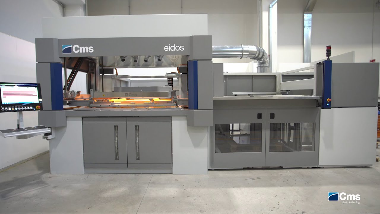 EIDOS - CMS THERMOFORMING MACHINE