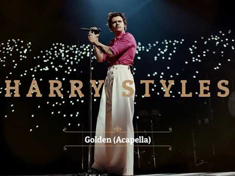 Harry Styles - Golden (Acapella) - Official