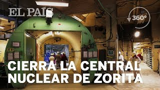 Descubre en 360º cómo se desmantela la central nuclear de Zorita | Economía