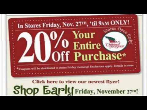 christmas tree shop 20 off coupon - YouTube