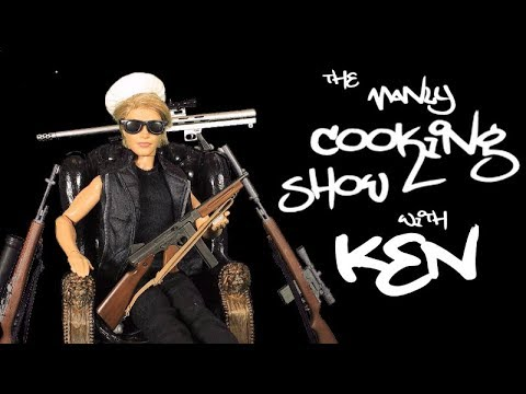 The Ken Cooking Show - A Barbie parody in stop motion *FOR MATURE AUDIENCES*