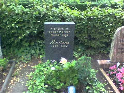Marlene Dietrich Grave Site Youtube