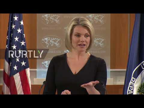 USA: 'We support the First Amendment', State Department spokesperson deflects questions