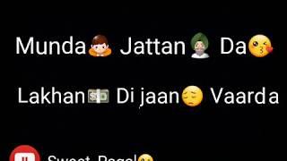Jatt Jaan Vaarda | Armaan Bedil | 200 Garam | Punjabi Song