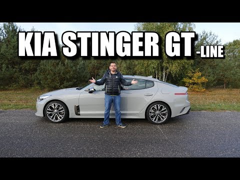 KIA Stinger 2.0 245 KM (PL) - Test I Jazda Próbna