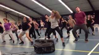 Choreo 'Lemon', Stella van Wanrooij, repetitie Olympichal Wijchen, juni 2013
