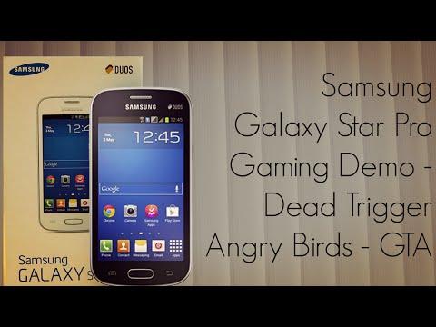 Samsung Galaxy Star Pro Gaming Demo / Dead Trigger / Angry Birds / GTA /Temokle Run - PhoneRadar