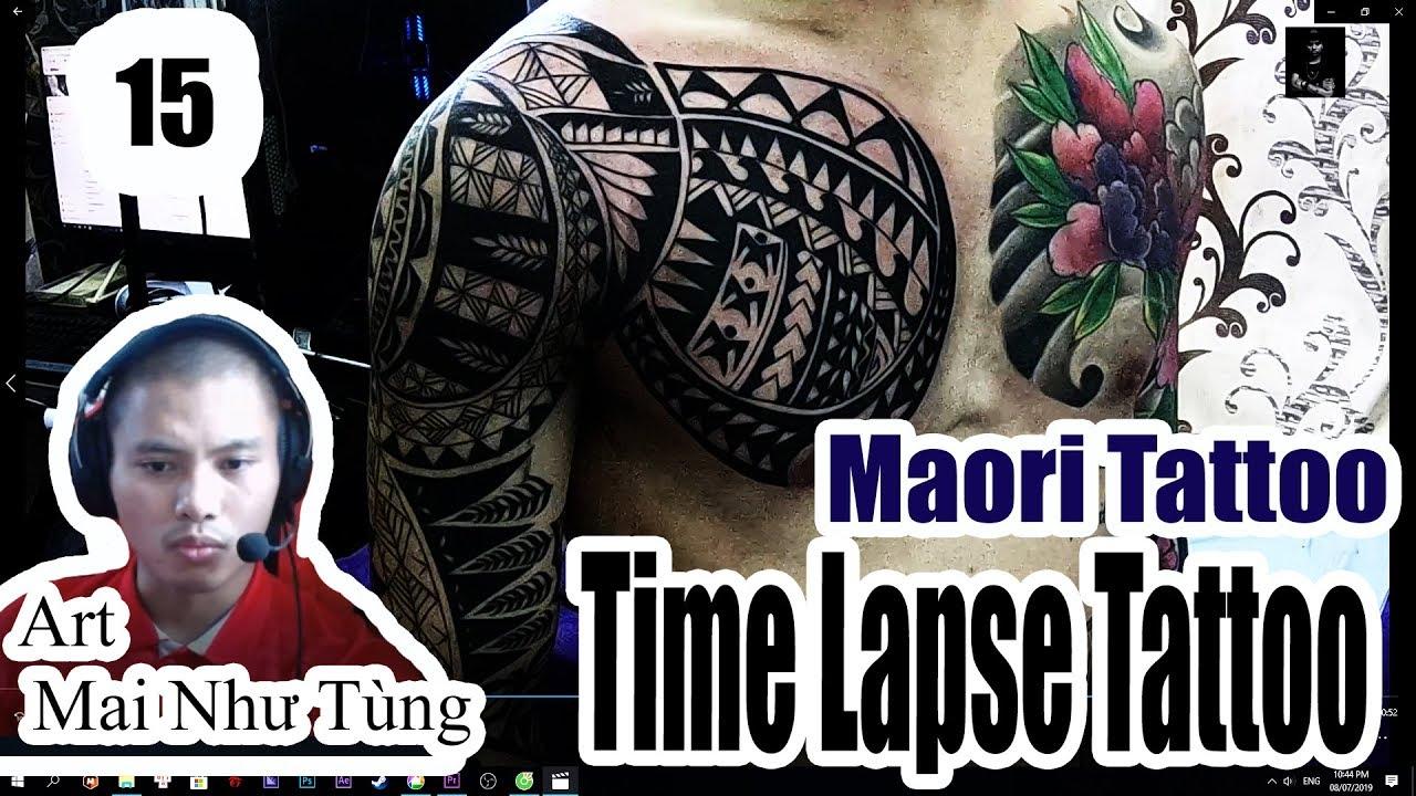 Hình xăm hoa văn maori kín cánh tay cực đẹp ( maoritatoo fullhand freehand)   Khái quát các thông tin liên quan những hình xăm hoa văn đẹp đầy đủ nhất