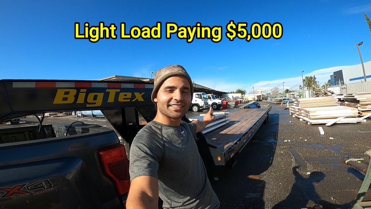 Light weight Heavy Money! Hotshot Trucking!