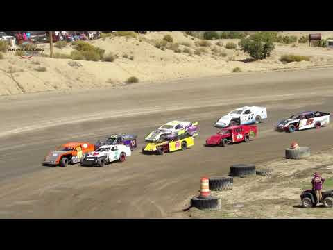 Desert Thunder Raceway IMCA Sport Mod Heat Races 9/29/18-Day Race