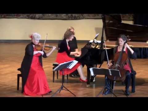 Das Verdandi-Trio spielt: Josef Haydn - Klaviertrio D-Dur, Hob. XV:24