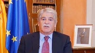 Spanish FM urges Catalonians to disregard regional leaders