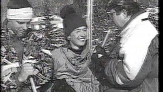 Лыжный Балет. Михаил Кулеба. 1993 год. Тысовец.