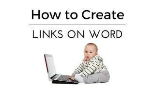 How to Create Links on Word - quick and easy!