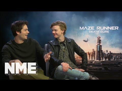 Maze Runner: The Death Cure  SPOILERS  Dylan O'Brien and Thomas BrodieSangster