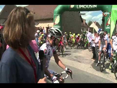 Résumé de la 4ème étape Meuzac (87) - Limoges (87) (175.6 kms)