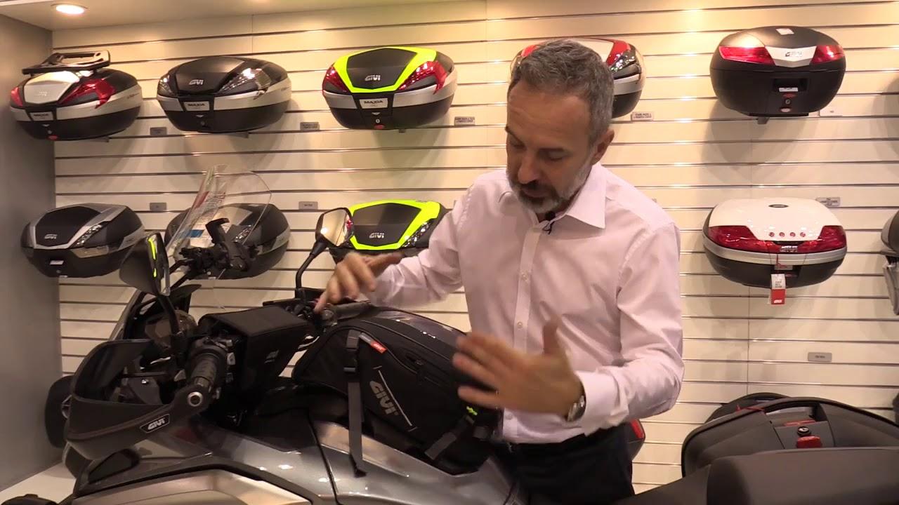 Givi Ea116 Tank Bag 10l For Honda Nc750x 16 17 Ghostbikes Youtube