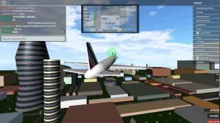Un avión con aviones ROBLOX - Cómo salir y aterrizar 2015