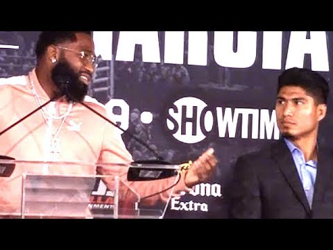 "ADRIEN BRONER TELLS GARCIA'S ""F--K Y'ALL""; INSULTED WITH BETTING ODDS AND SAYS HE'LL FIGHT NATE DIAZ"